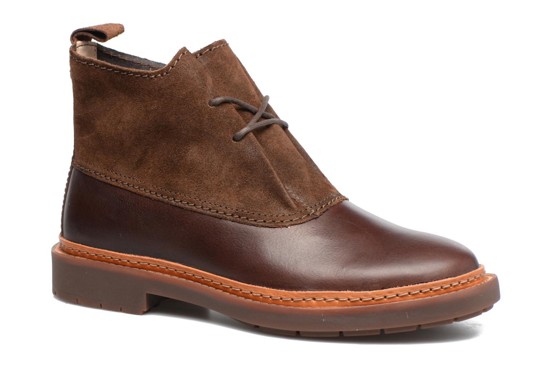 Bottines et boots Clarks Trace Fawn Marron vue détail/paire