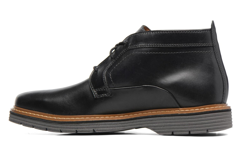 Bottines et boots Clarks Newkirk Up GTX Noir vue face