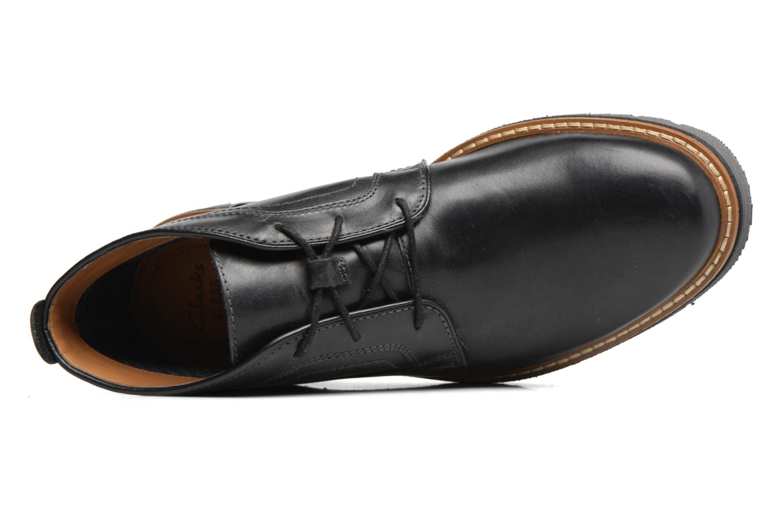 Bottines et boots Clarks Newkirk Up GTX Noir vue gauche