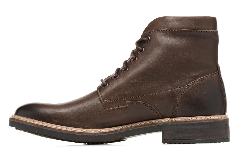 Boots en enkellaarsjes Clarks Blackford Hi Bruin voorkant