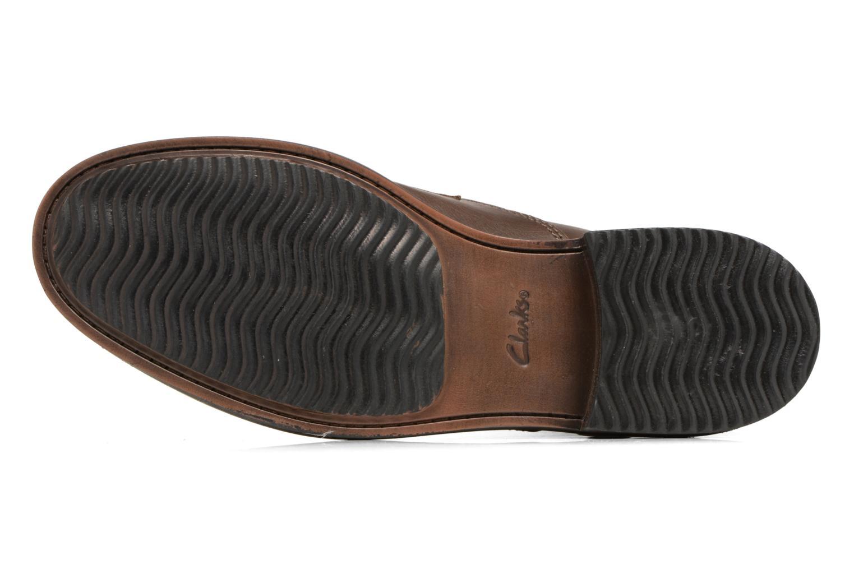 Boots en enkellaarsjes Clarks Blackford Hi Bruin boven