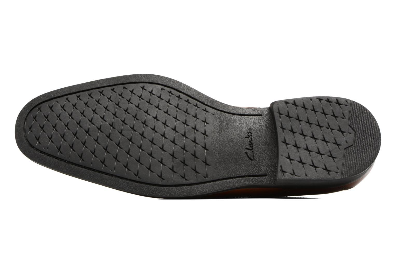 Chaussures à lacets Clarks Gilman Mode Marron vue haut