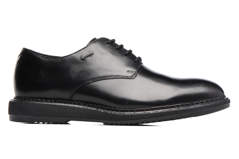 Chaussures à lacets Clarks KenleyWalk GTX Noir vue derrière