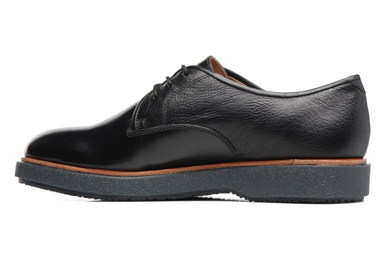 Chaussures à lacets Clarks Modur Walk Noir vue face