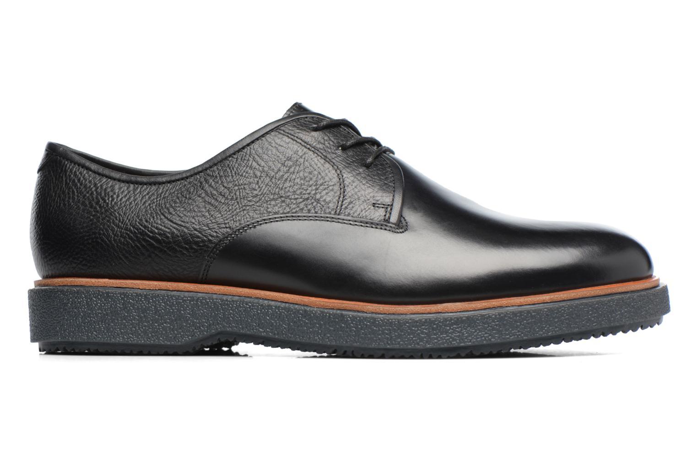 Chaussures à lacets Clarks Modur Walk Noir vue derrière