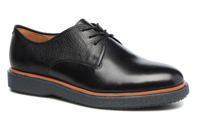 Chaussures à lacets Clarks Modur Walk Noir vue détail/paire
