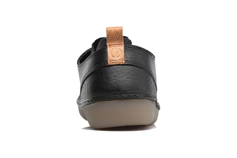 Baskets Clarks Nature IV. Noir vue droite