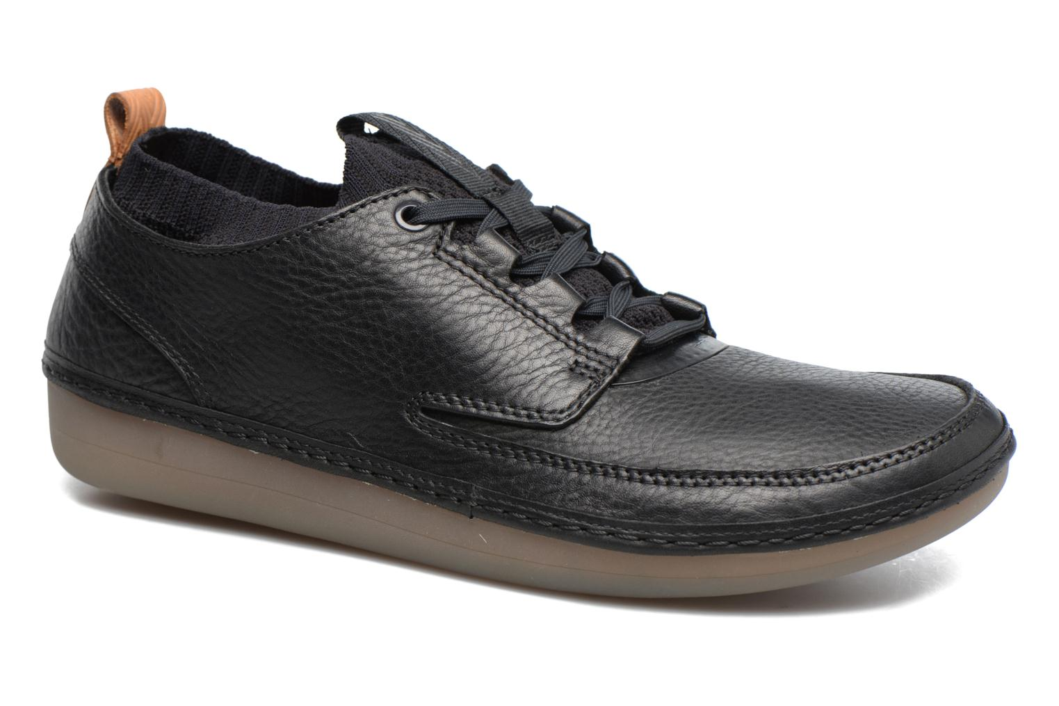 Black Nature Nature Clarks Black leather IV Clarks leather IV 6qU0Hxn
