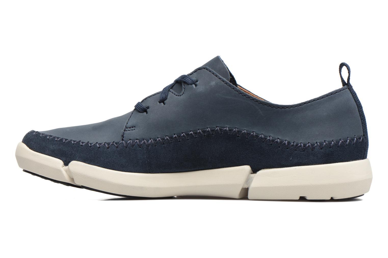 Sneakers Clarks Trifri Lace Azzurro immagine frontale