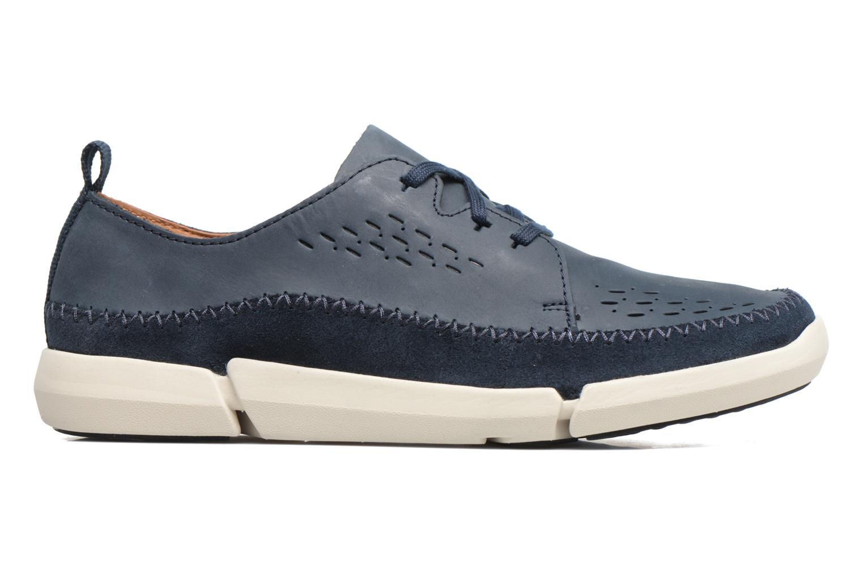 Sneakers Clarks Trifri Lace Azzurro immagine posteriore
