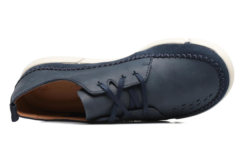 Sneakers Clarks Trifri Lace Azzurro immagine sinistra