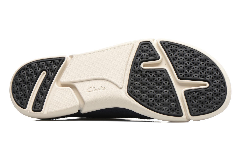 Sneakers Clarks Trifri Lace Azzurro immagine dall'alto