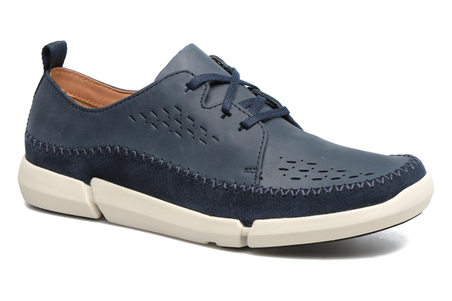 Sneakers Clarks Trifri Lace Blauw detail