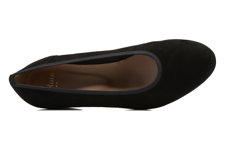Escarpins Perlato Carina Noir vue gauche