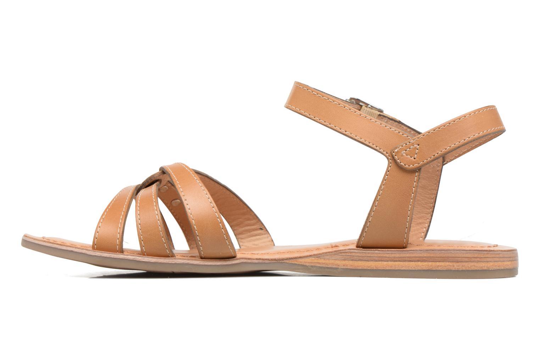 Sandals Les Tropéziennes par M Belarbi Balisto Brown front view