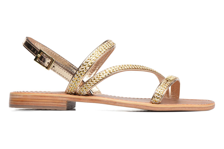 Sandales et nu-pieds Les Tropéziennes par M Belarbi Barry Or et bronze vue derrière