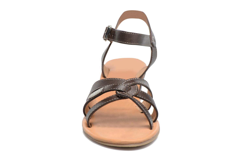 Sandales et nu-pieds Les Tropéziennes par M Belarbi Bolero Marron vue portées chaussures