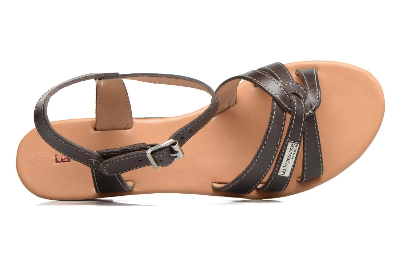Sandales et nu-pieds Les Tropéziennes par M Belarbi Bolero Marron vue gauche