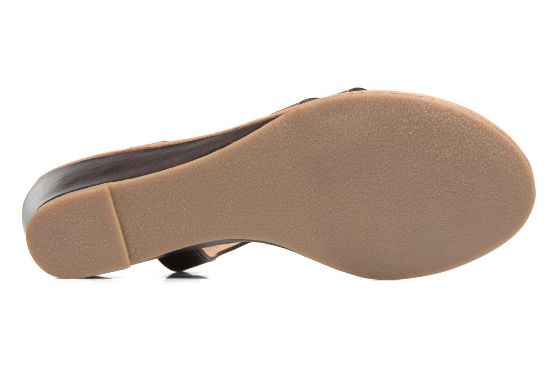 Sandales et nu-pieds Les Tropéziennes par M Belarbi Bolero Marron vue haut