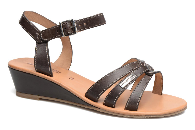 Sandales et nu-pieds Les Tropéziennes par M Belarbi Bolero Marron vue détail/paire