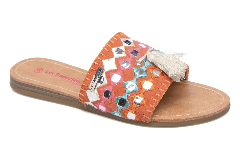 Grandes descuentos últimos zapatos Les Tropéziennes par M Belarbi Ganache (Naranja) - Zuecos Descuento