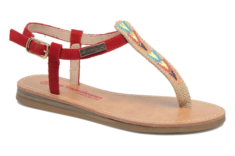 Sandales et nu-pieds Les Tropéziennes par M Belarbi Geronima Rouge vue détail/paire