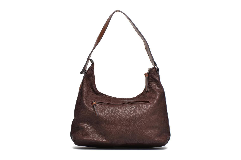 LEE Hobo bag Dark brown comb