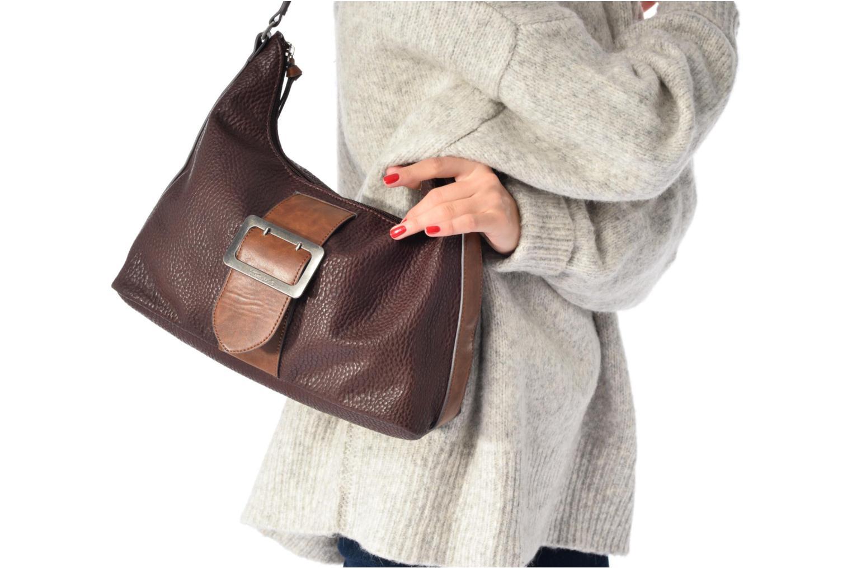 Handtassen Tamaris LEE Hobo bag Bruin boven