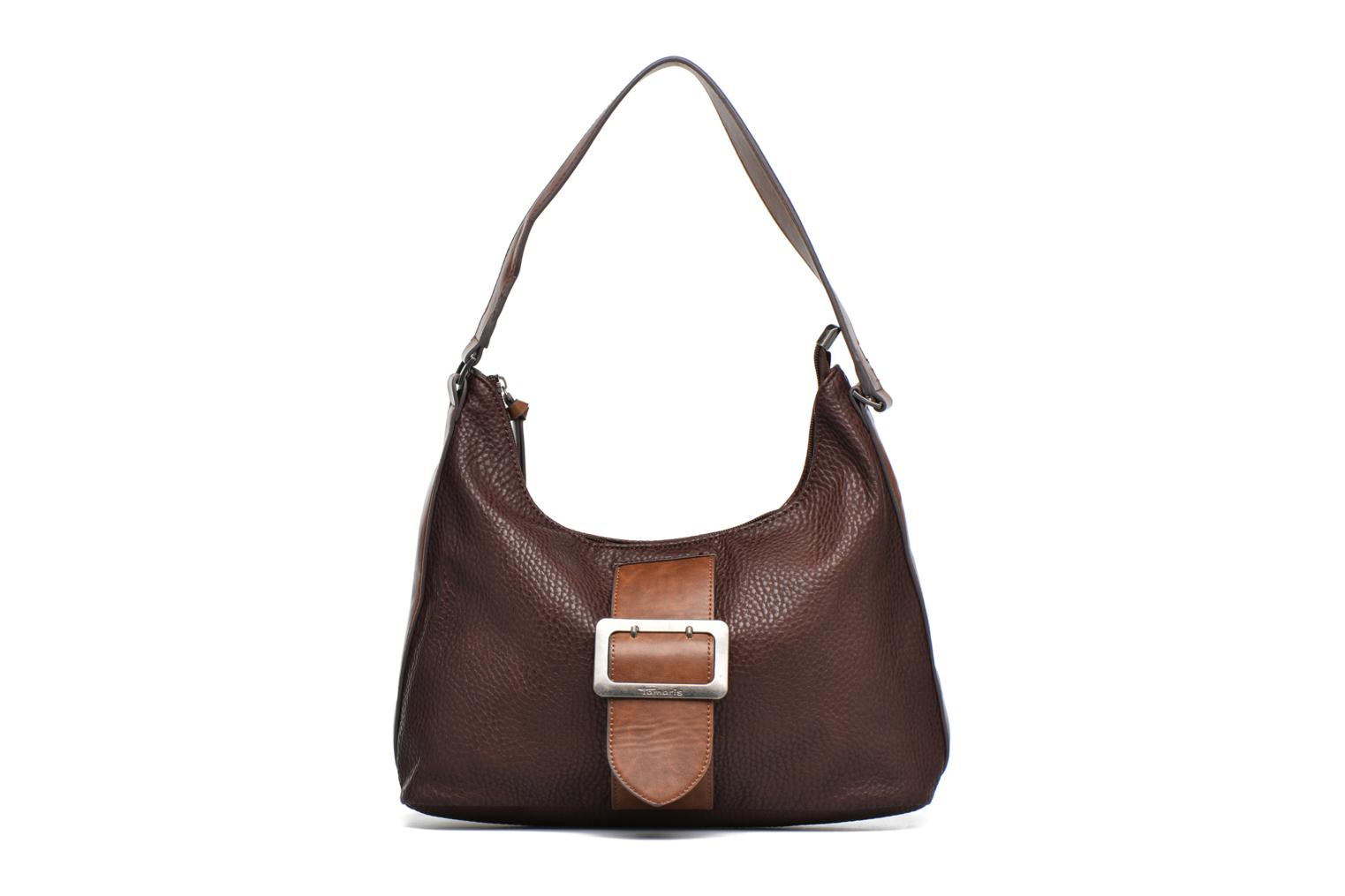 LEE Hobo bag Dark brown comb