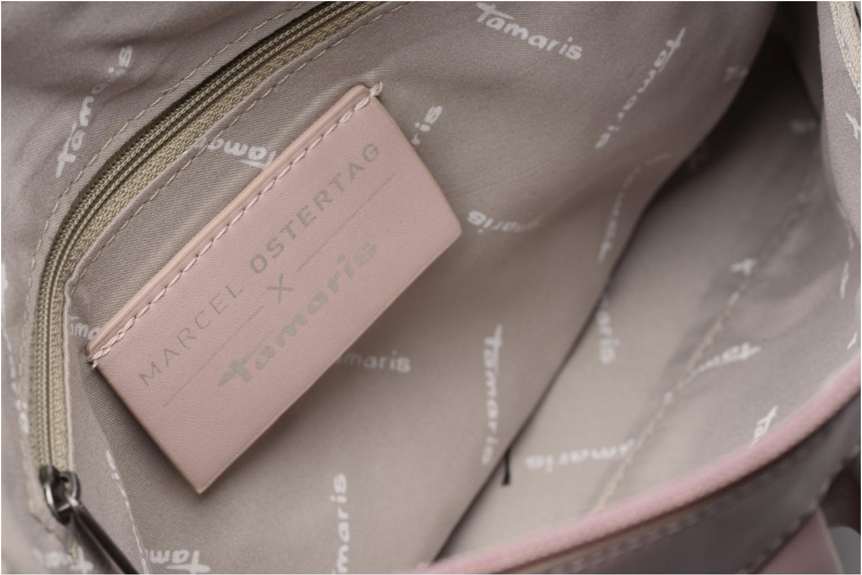 Handtassen Tamaris ROANA Clutch bag Roze achterkant