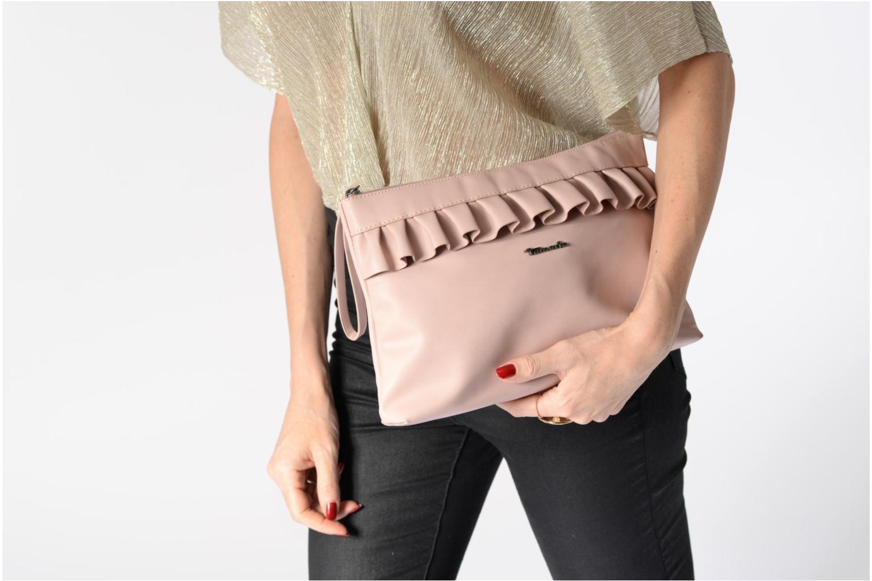 Handtassen Tamaris ROANA Clutch bag Roze boven