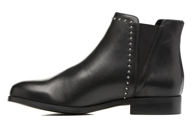 Bottines et boots Georgia Rose Soclou Noir vue face