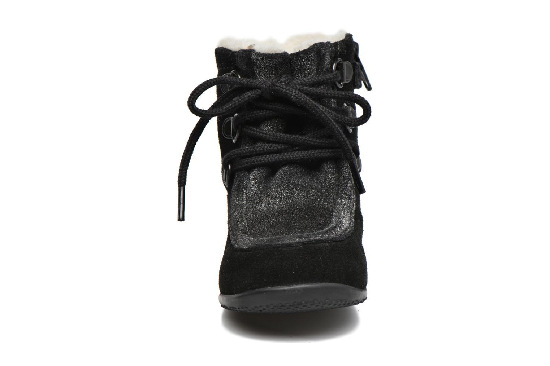 Bottines et boots Kickers Bamara Noir vue portées chaussures
