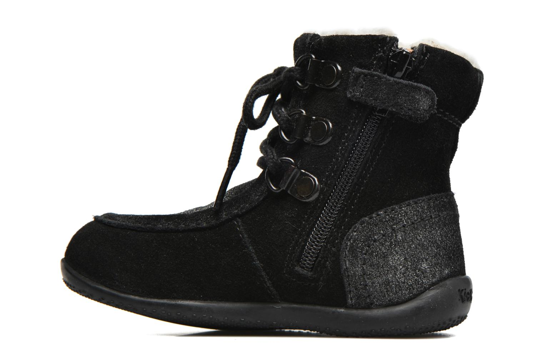 Bottines et boots Kickers Bamara Noir vue face
