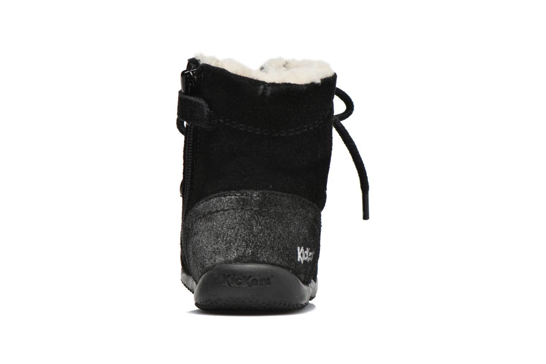 Bottines et boots Kickers Bamara Noir vue droite