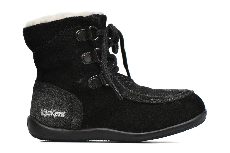 Bottines et boots Kickers Bamara Noir vue derrière