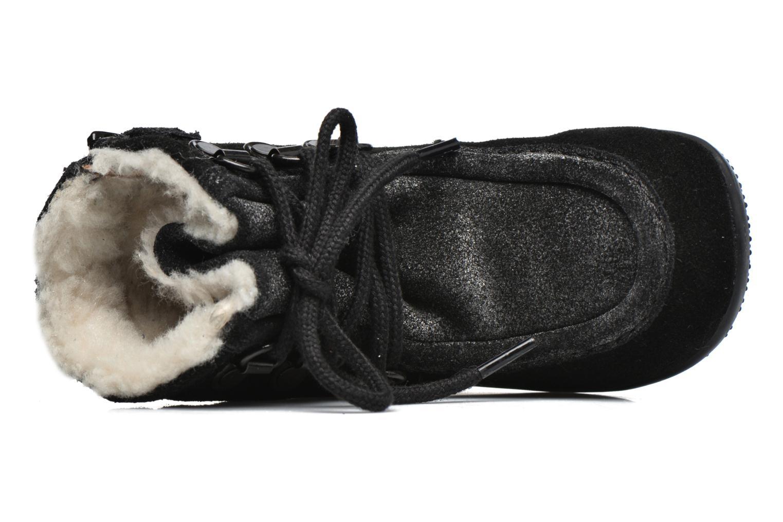 Bottines et boots Kickers Bamara Noir vue gauche
