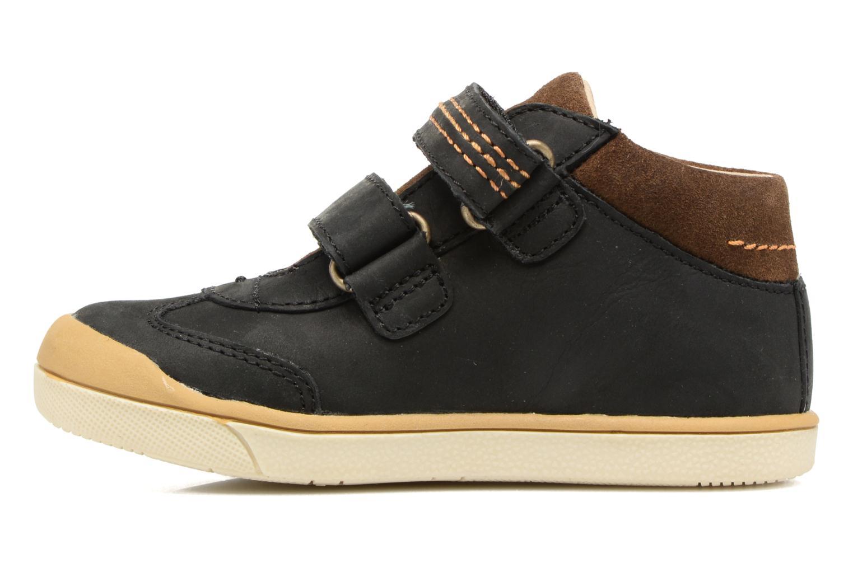 Sneakers Kickers Goldorage Zwart voorkant