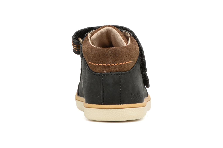Sneakers Kickers Goldorage Zwart rechts