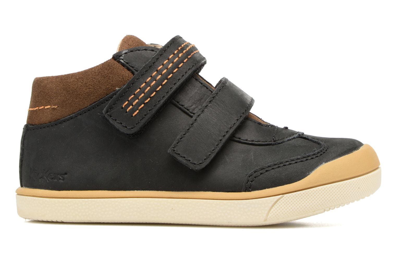 Sneakers Kickers Goldorage Zwart achterkant