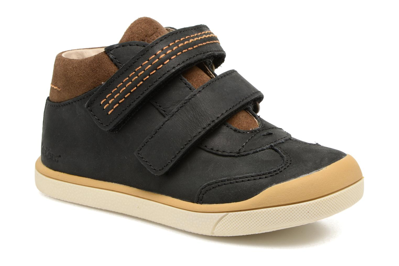Sneakers Kickers Goldorage Zwart detail