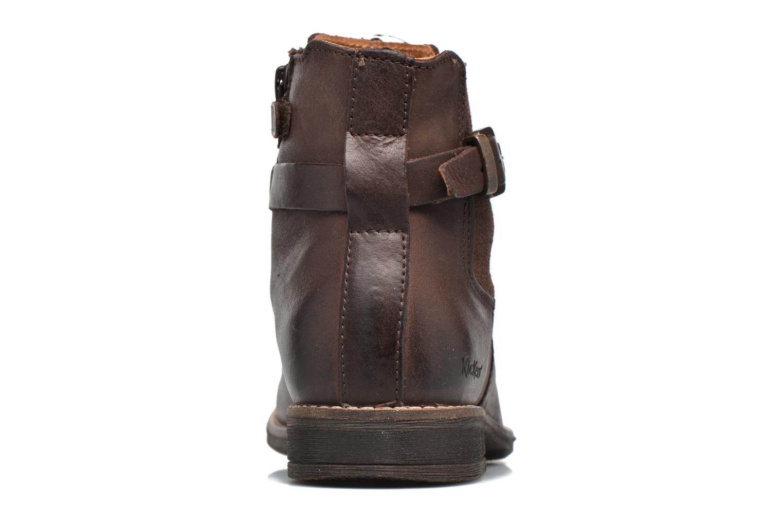 Bottines et boots Kickers Smackus Marron vue droite