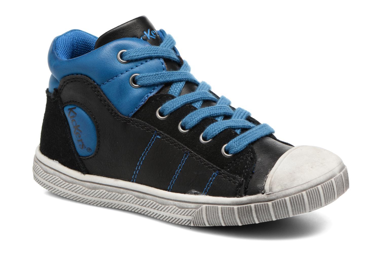 Baskets Kickers Bichocoss Bleu vue détail/paire