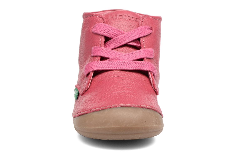 Bottines et boots Kickers Sonice Bordeaux vue portées chaussures