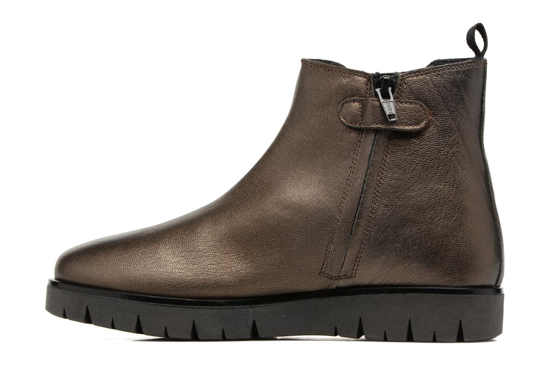 Bottines et boots Kickers Feepassi Noir vue face