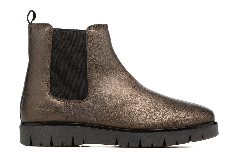 Bottines et boots Kickers Feepassi Noir vue derrière