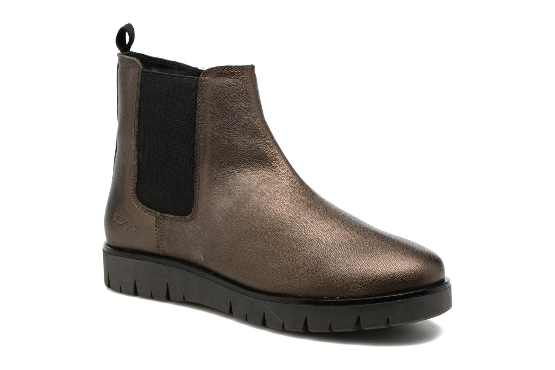 Bottines et boots Kickers Feepassi Noir vue détail/paire