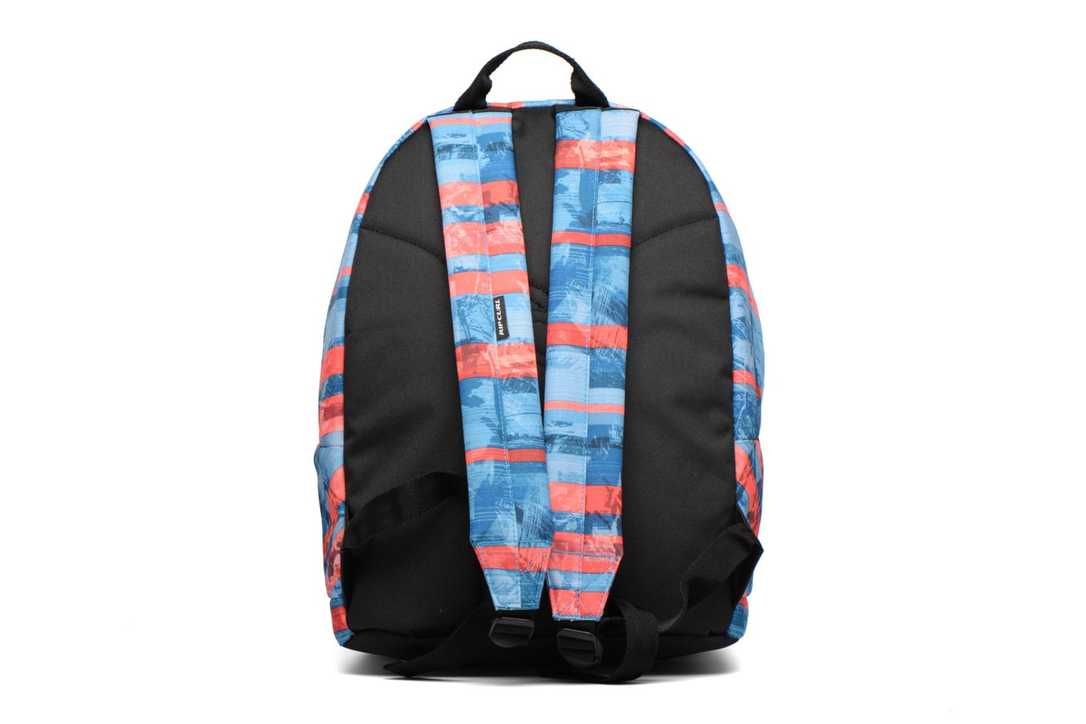 School bags Rip Curl Double dome Ocean Glitch Multicolor front view