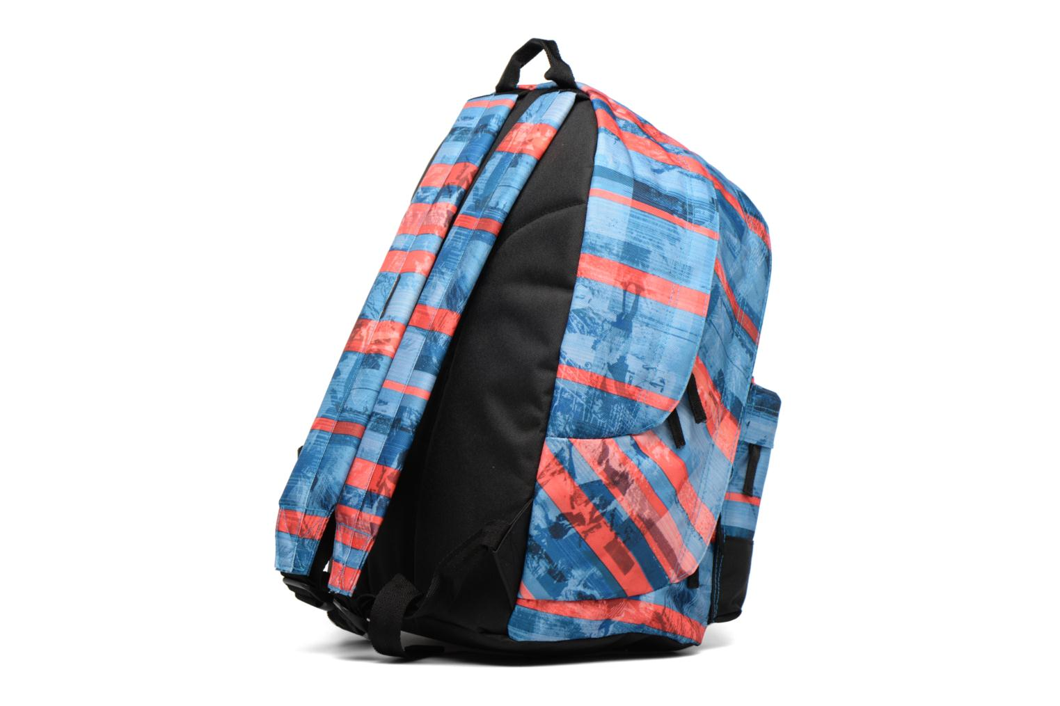School bags Rip Curl Double dome Ocean Glitch Multicolor view from the right