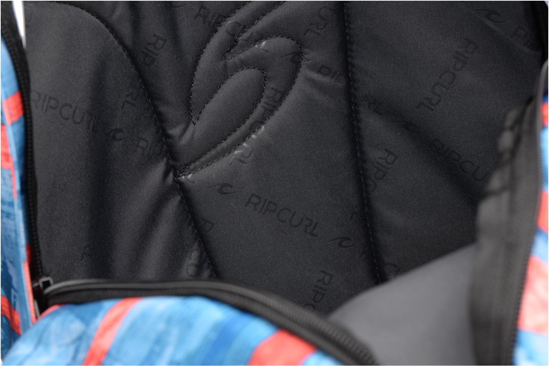 School bags Rip Curl Double dome Ocean Glitch Multicolor back view